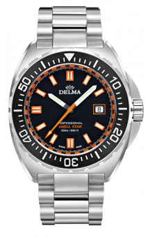 Delma Shell Star 200 m Black Steel