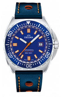 Delma Shell Star 200 m Blue Leather