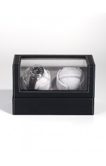 Rothenschild Watch Winder For 2 Ure RS-2114-BK