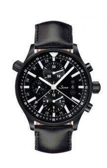 Sinn Art-Nr. 900.020 900 The Large Pilot Chronograph PVD Coated Leaherstrap
