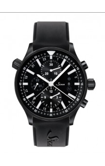 Sinn Art-Nr. 900.020 900 The Large Pilot Chronograph PVD Coated Siliconetrap