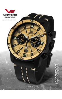 Vostok Europe Ekranoplan Chronograph 546C512 Leather