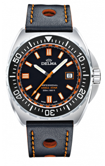 Delma Shell Star 200 m Black Leather