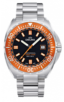 Delma Shell Star 200 m Orange Steel