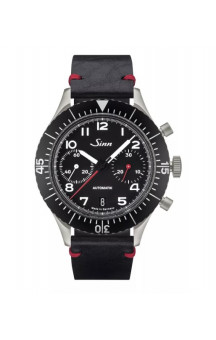 Sinn Art-Nr. 158 Bicompax Chronograph Leather RS