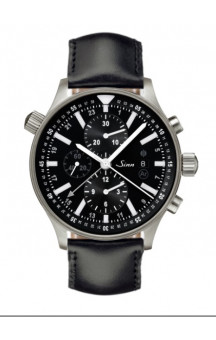 Sinn Art-Nr. 900.011 900 The Large Pilot Chronograph Leatherstrap.