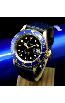Squale 20 Atmos 18 K gold
