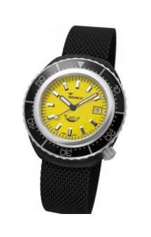 Squale 2002 101 PVD Steelband Yellowface