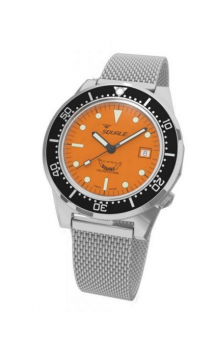 Squale 1521-026 A Steelbracelet Orangeface