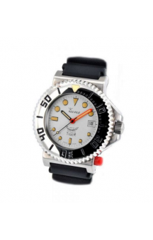Squale Tiger 300M 064 white dial NOS