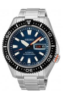 Seiko 5 automatiske 200 meter SRP493K1 (stargate blue)