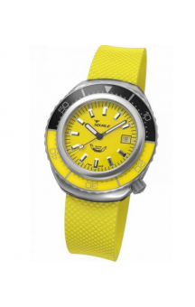 Squale 2002 101 Yellow Rubberband Yellowface