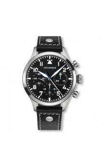 Archimede  Pilot Chronograph TRI . LS