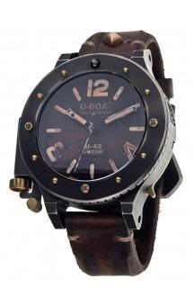 U-Boat U-42 Unicum 8088  Titanium - Bronze 53 mm.