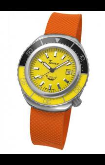 Squale 2002 101 Orange Rubberband Yellowface