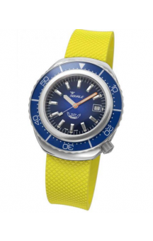 Squale 2002 101 Yellow Rubberband Blueface