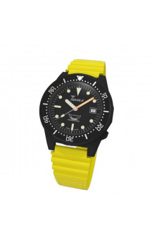 Squale 1521-026  PVD Yellow Rubberband